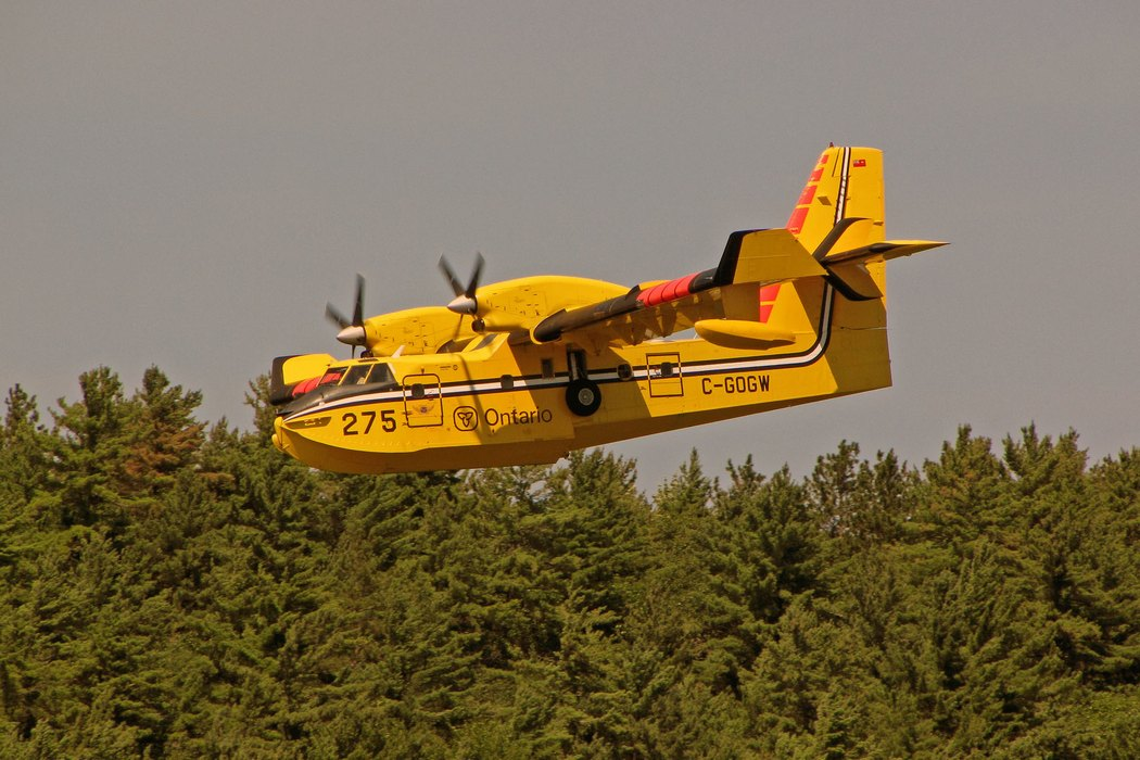 Day Seven: The Water Bomber on Mill Lake