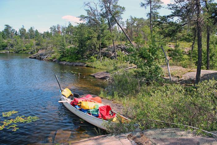 Canoeing on the French River (Dokis), Ontario, July 03 - 08, 2011